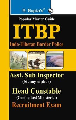 ITBP-ASI (Steno)/Head Constable (CM) Guide (English) by RPH Editorial Board