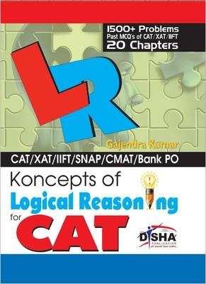Koncepts of Logical Reasoning for CAT (English) by Gajendra Kumar