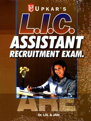 L.I.C Assistant Recruitment Exam. (English) 1st Edition by Lal, Jain