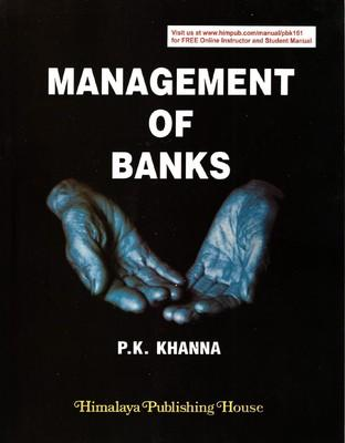 Management of Banks (English) 1st  Edition by P K Khanna