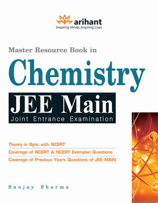 Master Resource Book in Chemistry JEE Main (English) 8th Edition by Sanjay Sharma