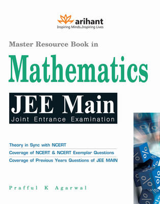 Master Resource Book in Mathematics JEE Main (English) 8th Edition by Prafful K Agarwal