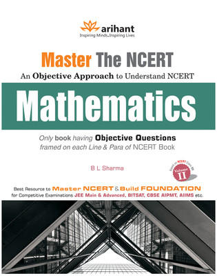 Master the NCERT - Mathematics (Volume - 2) (English) 1st  Edition by B L Sharma