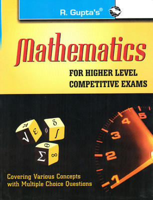 Mathematics for Higher Level Competitive Exams (English) 3rd  Edition by Santanu Roy