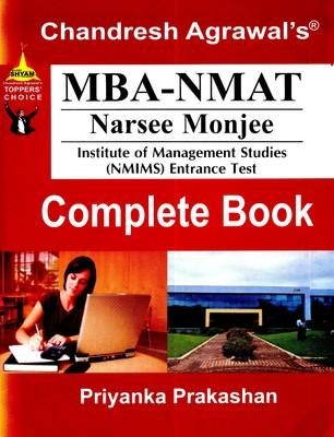 MBA-NMAT Admission Test A/4 by Chandresh Agrawal