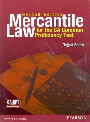 Mercantile Law for the CA-Common Proficiency Test (CPT) by Sheth