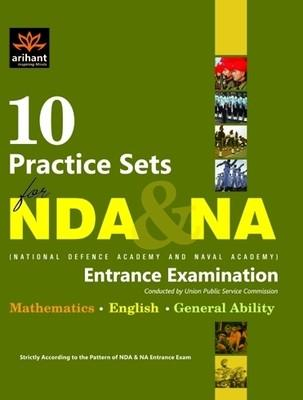 NDA & NA National Defence Academy and Naval Academy Entrance Examination: 10 Practice Sets (English) 1st Edition by Expert Compilations