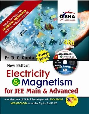 New Pattern Electricity & Magnetism for JEE Main & Advanced (With CD) (English) 4th Edition