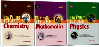 New Pattern IIT-JEE Physics, Chemistry and Mathematics (English) 1st Edition by D C Pandey, S K Goyal, R K Gupta