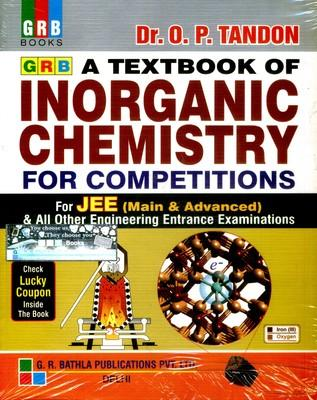 New Pattern Textbook of Inorganic Chemistry for Competiotions (JEE Main & Advanced ) (English) 15th  Edition by P O Tandon