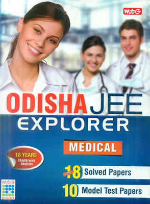 Orissa Jee Explorer Medical by MTG Editorial Board