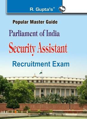Parliament of India Security Assistant Exam Guide (English) by RPH Editorial Board
