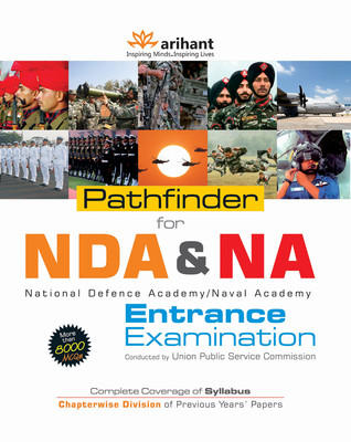 Pathfinder for NDA & NA Entrance Examination Conducted by UPSC (English) 7th  Edition by Arihant Experts