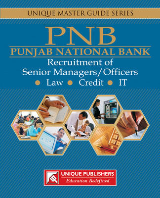 PNB Punjab National Bank Recruitment of Senior Manager / Officers Guide PB (English) by Unique Research Academy