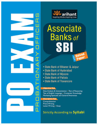 PO Exam - Associate Banks of SBI with Solved Paper (English) 1st  Edition by Arihant Experts