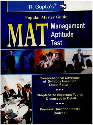 Popular Master Guide - MAT Management Aptitude Test (English) 01 Edition by RPH Editorial Board