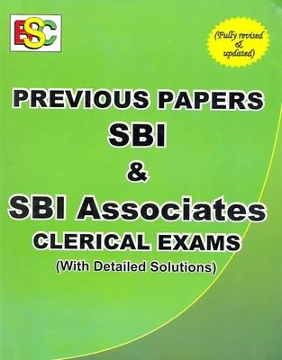 Previous Papers Sbi & Sbi Associates Clerical Exam by