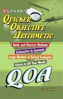 QOA Quicker Objective Arithmetic (English) by Lal, Amp, Jain