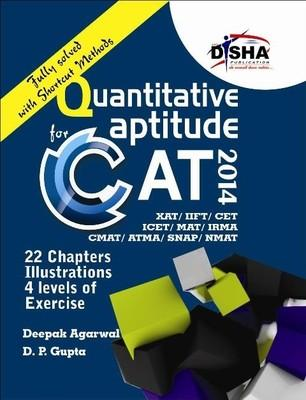 Quantitative Aptitude for CAT 2014 (English) 1st Edition by D P Gupta, Deepak Agarwal
