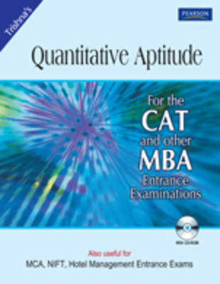 Quantitative Aptitude for CAT and other MBA Entrance Examinations (With CD) (English) 3rd Edition by Trishna Knowledge Systems