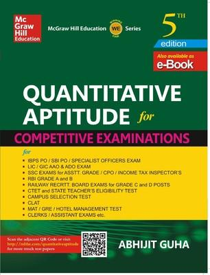 Quantitative Aptitude for Competitive Examinations (English) 5th  Edition by Abhijit Guha