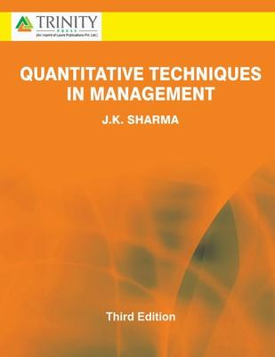 Quantitative Techniques in Management (English) 3rd Edition by J K Sharma