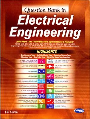 Question Bank In Electrical Engineering (English) 4th  Edition by J B Gupta