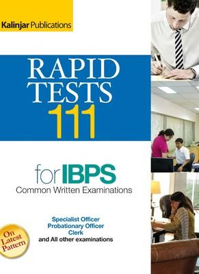 Rapid Tests 111 for IBPS Examinations (English) by Editorial Board