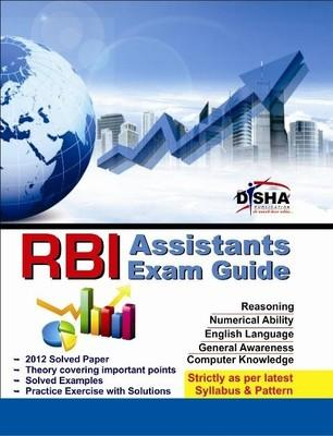 RBI Assistants Exam Guide (English) 1st  Edition by Disha Experts