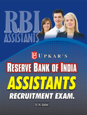 RBI Reserve Bank of India Assistants Recruitment Exam (English) by T S Jain