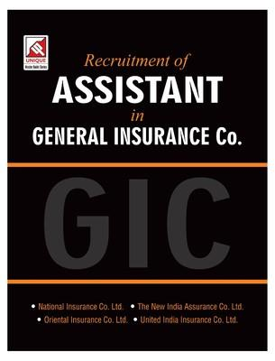 Recruitment of Assistant in GIC (General Insurance Co) (Code 18.56) PB (English) by Unique