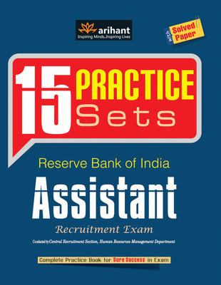 Reserve Bank of India Assistant Recruitment Exam : 15 Practice Sets (English) 1st  Edition by Arihant Experts