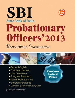 SBI State Bank of India Probationary Officers