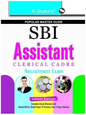 SBI - Assistant Clerical Cadre Recruitment Exam (English) by RPH Editorial Board