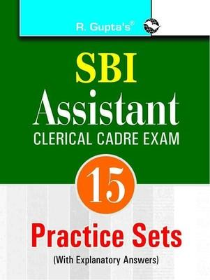SBI - Assistants (Clerical Cadre) Practice Papers (English) by RPH Editorial Board