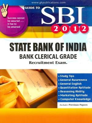 SBI Bank Clerical Grade Recruitment Exam Guide (English) 01 Edition by GKP