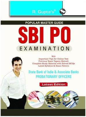 SBI PO - State Bank of India & Associate Banks Probationary Officers Examination : Popular Master Guide (English) 01 Edition by RPH Editorial Board