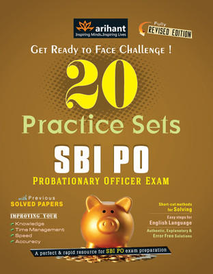 SBI PO Exam - 20 Practice Sets (English) 4th Edition by Arihant Experts