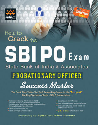 SBI PO Exam - Probationary Officer Success Master (English) 7th Edition by Editorial Board