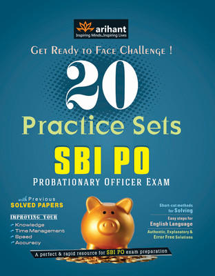 SBI PO Examination 20 Practice Sets PB (English) 4th Edition by Arihant Experts
