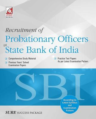 SBI PO Recruitment of Probationary Officers in State Bank of India (English) by Unique Research