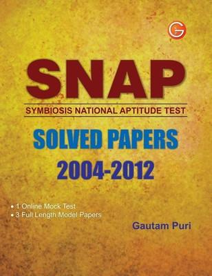 Snap Solved Papers 2004-2012-Symbiosis National Aptitude Test (English) 4th  Edition by Gautam Puri