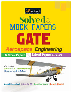 Solved & Mock Papers for GATE Aerospace Engineering PB (English) by Khandelwal A