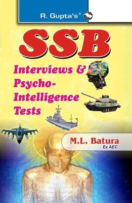 SSB Interviews and Psycho Intelligence Tests (English) by RPH Editorial Board