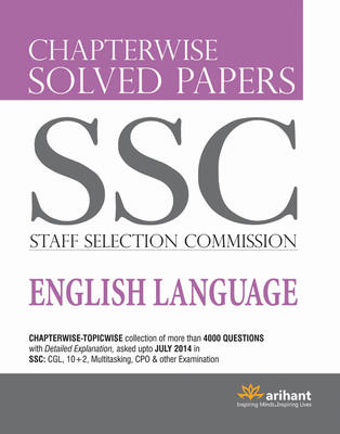 SSC - Staff Selection Commission English Language : Chapterwise Solved Papers (English) 1st  Edition by Sharad Upadhyay, Ritesh Ranjan