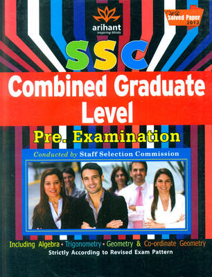 SSC Combined Graduate Level(Pre.) Examination Self Study Guide (English) by Expert Compilations