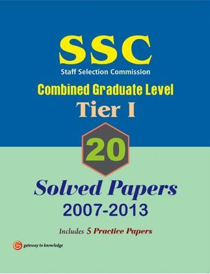 SSC Combined Graduate Level (Tier 1) : 20 Solved Papers (2007 - 2013) (English) 10th Edition by GKP