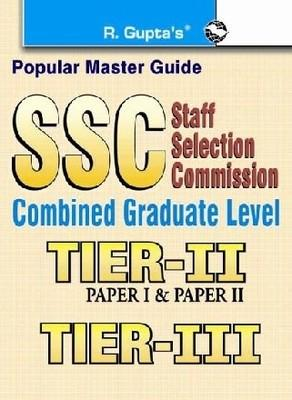 SSC Combined Graduate Level Exam Guide Tier II and Tier III (English) by RPH Editorial Board