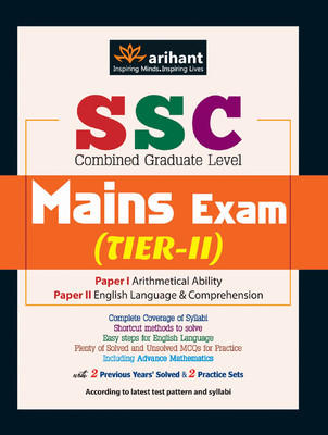 SSC Combined Graduate Level Mains Exam Tier-II, Paper-1 & 2 (English) by Experts Compilation