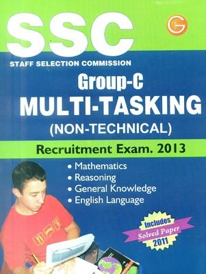 SSC Group-C Multi-Tasking : Non-Technical Recruitment PB (English) 7th  Edition by GKP